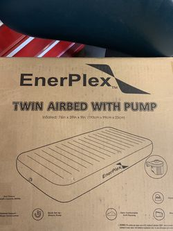 EnerPlex Never Leak Luxury Twin Air Mattress for Sale in Washington,  PA