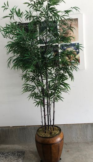 Faux Bamboo Planter for Sale in Fairfax, VA