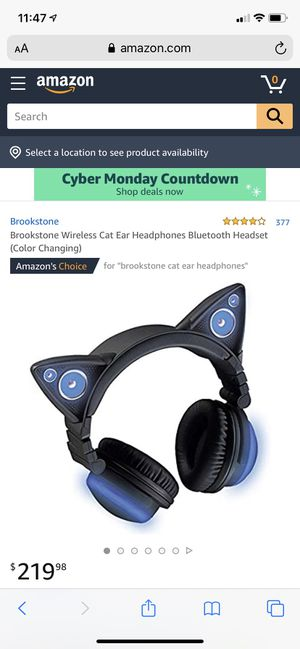 Brookstone Wireless Headphones for Sale in Norristown, PA
