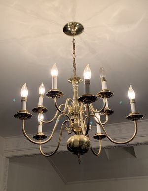 Golden Chandelier for Sale in MONTGOMRY VLG, MD