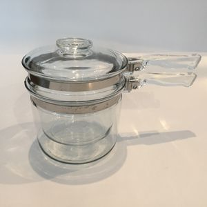 Pyrex Double Boiler Vintage Clear 1.5 q for Sale in Horseshoe Beach, FL