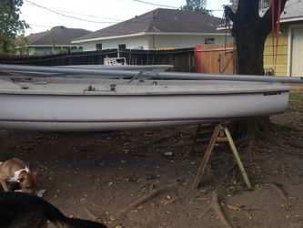 """Boat With Trailer 15"""" for Sale in Pasadena,  TX"""