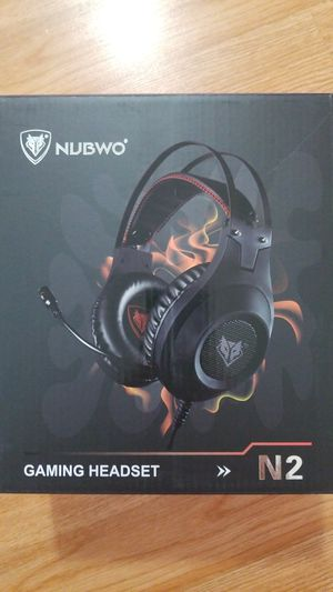Gaming Headset for Xbox One, PS4, PC, Controller, NUBWO Wired for Sale in Moreno Valley, CA