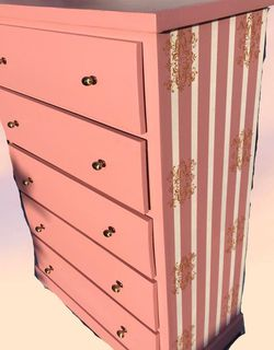 Pink 5 drawer Dresser for Sale in Compton,  CA