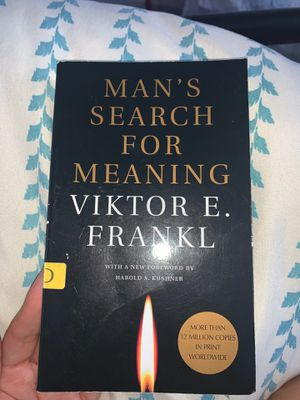 Mans search for meaning by Viktor E. Frankl for Sale in Walnut, CA