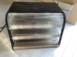 "Federal Industries 35"" countertop heated display cabinet for Sale in Umatilla, FL"
