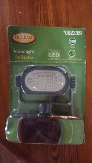 LED Floodlight Reflector (Holiday Living) for Sale in Rock Hill, SC