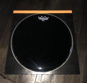 Remo 13in ebony emperor drumhead for Sale in Hialeah, FL