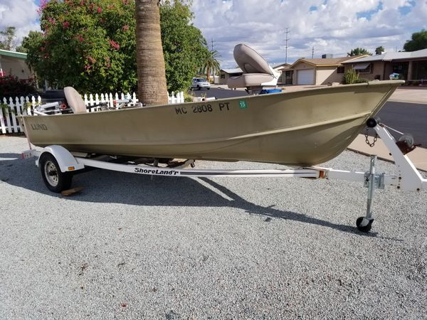 1994 Lund 18 foot Alaskan fishing boat for Sale in Mesa, AZ - OfferUp