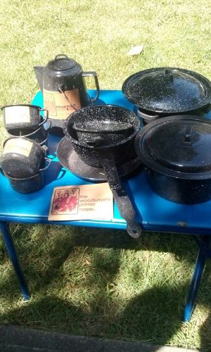 Vintage Frontier Campware/Cookware $65 for Sale in Farmville, VA