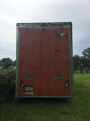 2001 Haulmark custom trailer original owner for Sale in Cooper City, FL