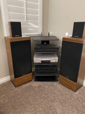 Marantz speaker set up for Sale in Queen Creek, AZ