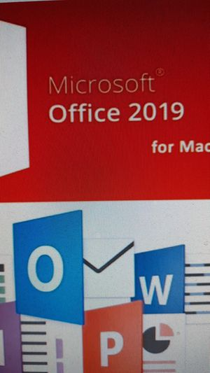 Microsoft office 2019 for MAC for Sale in Canton, MA