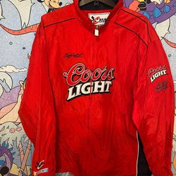COORS LIGHT RACING LIGHT WEIGHT JACKET for Sale in Washington,  DC