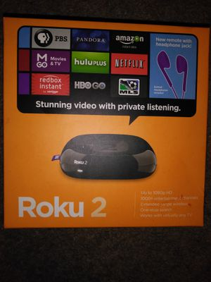 Roku 2 used for a couple days still brand new for Sale in Columbus, OH