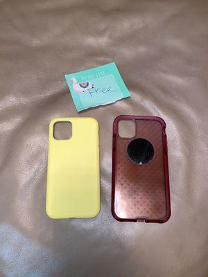 Free I phone 11 covers for Sale in Bloomfield Township, MI