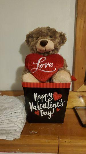 Valentines day teddy bear for Sale in Glen Burnie, MD