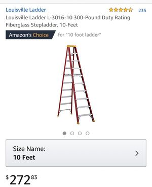 10 Foot Ladder for Sale in New York, NY