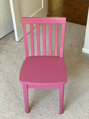 4 pink potterybarn kids chairs for Sale in Hillsborough, CA
