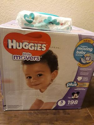 Huggies diapers size 3 for Sale in Grand Prairie, TX