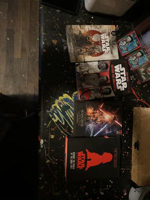 Selling these Star Wars books all 4 for Sale in Fresno, CA