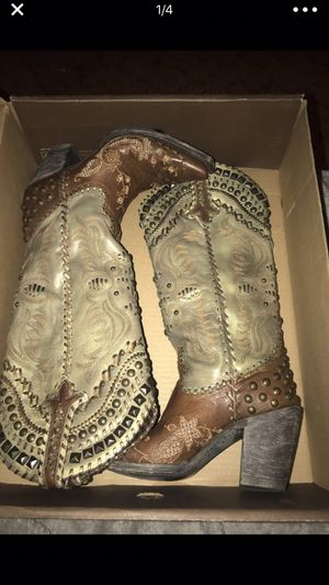 Ranchero boots for Sale in Highlands, TX