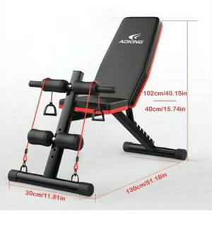 In box brand new adjustable weight bench for Sale in Tacoma, WA