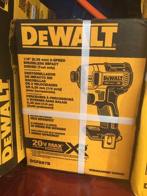 20v XR Dewalt Impact Drill XR for Sale in Berlin, MD