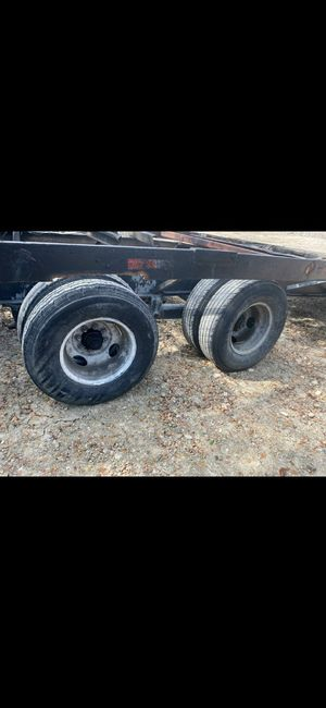 Gooseneck trailer Axles and wheels for Sale in Dallas, TX