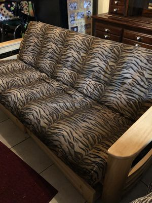 Full size futon with extra thick mattress for Sale in Palm Beach Shores, FL