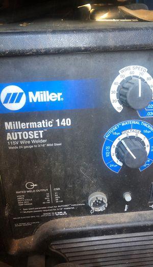 MIG welder Miller Millermatic 140 for Sale in San Diego, CA