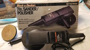 "Older Black & Decker 7"" 2 speed Disc Sander/Poli for Sale in Yorba Linda, CA"