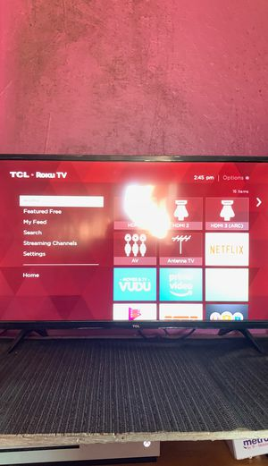 TCL ROKU TV 30 inch 1080p ONLY CASH AND YOU PICK IT UP for Sale in San Jose, CA