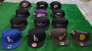 SNAPBACK HATS PADRES, DODGERS, LAKERS, RAMS, CHARGERS for Sale in Oceanside, CA