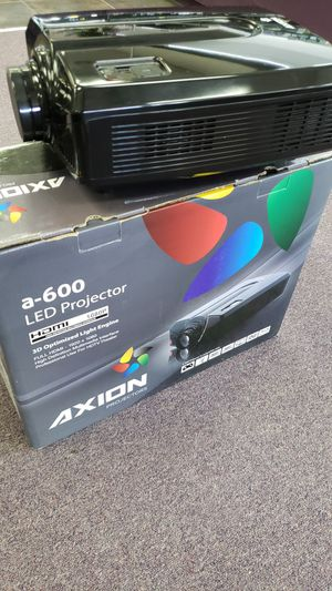 Axion A-600 LED 3D HD 1080P Projector for Sale in Fort Worth, TX