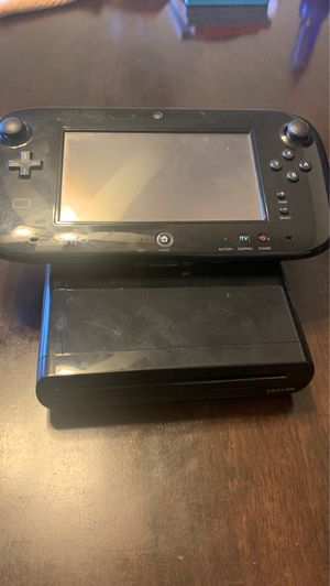 Nintendo Wii U Deluxe Set: New Super Mario Bros U and New Super Luigi U, Black for Sale in Whittier, CA