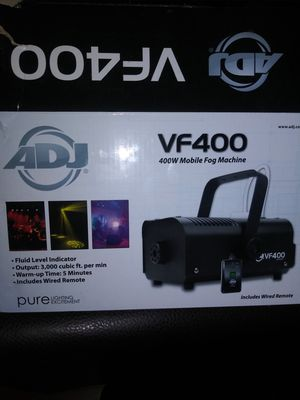 adj vf400 400w mobile fog machine for Sale in Long Beach, CA