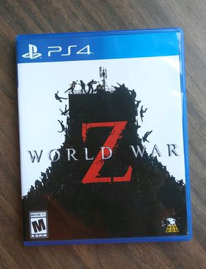 World War Z for PS4 for Sale in Livermore, CA
