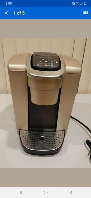 Keurig K-Elite K90 Coffee Maker- Brushed Gold With Iced Coffee Capability for Sale in Henderson, NV