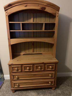 Real wood bedroom set for Sale in Carmel, IN