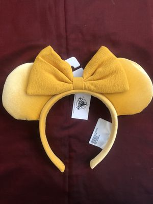 Yellow Disney Minnie Mouse Ears for Sale in Chandler, AZ