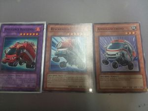 Rare Yugioh Cards Ambulance Rescueroid Plus Fusion Cards for Sale in Sunbury, OH