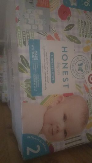 Honest Diapers -Size 2 for Sale in Baltimore, MD