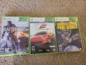 New Xbox 360 games for Sale in Clovis, CA
