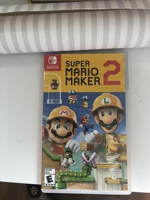 Super Mario Maker 2 for Sale in Falls Church, VA