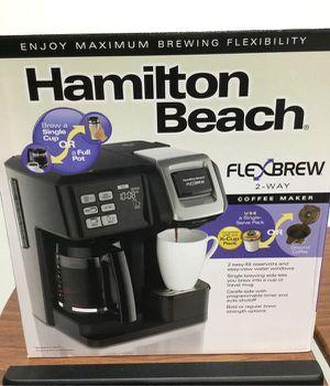 Coffee Maker 2 way Cafetera Electrica Hamilton Beach A124 for Sale in Miami, FL