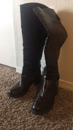 Brown leather boots for Sale in Hillsboro, OR