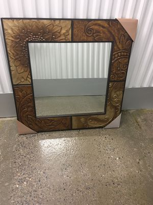 Pier one mirror 36x36 for Sale in Linthicum Heights, MD