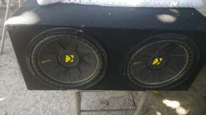 Speakers kicker c incredible sound for Sale in Riverside, CA