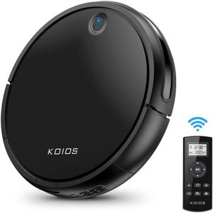 Robot Vacuum Cleaner by KOIOS - I3 80% Higher Suction Robotic Vacuum Cleaner with Self-charging & Drop-sensing Technology, HEPA Filter for Pet Fur, 2 for Sale in Philadelphia, PA